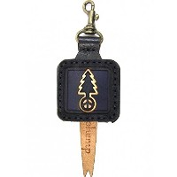 OJAGA DESIGN (オジャガデザイン) GOHEMP TREE LOGO KEY CAP Color:NAVY  Size:H9xW4.5xD1.5cm