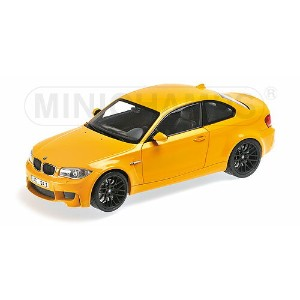 BMW 1-SERIES M1 COUPE 2011 | YELLOW /Minichampsミニチャンプス 1/18 ミニカー