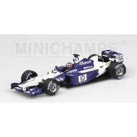 WILLIAMS | F1 FW24 BMW N 6 2nd HALF SEASON 2002 J.P.MONTOYA | BLUE WHITE /Minichampsミニチャンプス 1/43...