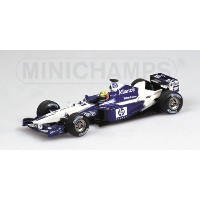 WILLIAMS | F1 BMW FW24 N 5 SEASON 2002 R.SCHUMACHER | BLUE WHITE /Minichampsミニチャンプス 1/43 ミニカー