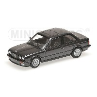 BMW | 3-SERIES (E30) 1989 | BLACK MET /Minichampsミニチャンプス 1/43 ミニカー