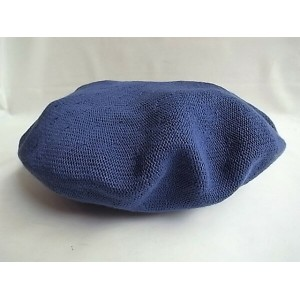 C-PLUS HEAD WEARS【BERET/COTTON】★BLUE☆