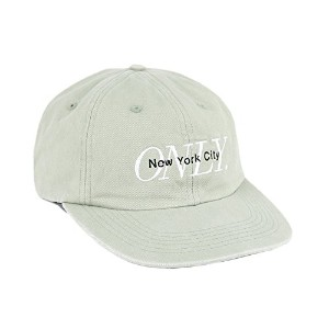 ONLY NY Midtown Polo Hat Sage オンリーニューヨーク 6パネル ポロ キャップ 帽子