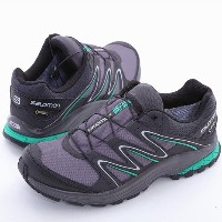 サロモン(サロモン) Kiliwa GTX AUTOBAHN/ASPHALT/Athletic Green X L38143600 防水透湿 (グレー/26.0/Men's)