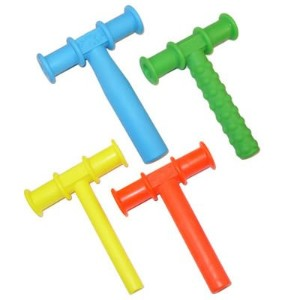 CHEWY TUBE MASTER COMBO PACK - 3 KNOBBY TEXTURE - 3 (BLUE) LARGE - 3 (RED) MEDIUM - 3 (YELLOW)...