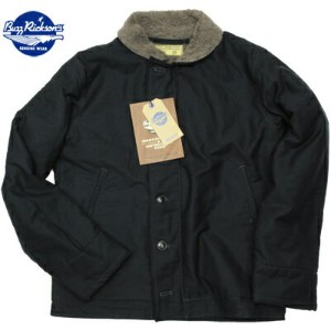 BUZZ RICKSON'S(バズリクソン)USN Type N-1 Deck Jacket Navy [BR12030]【送料無料】