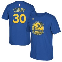 Stephen Curry Golden State Warriors adidas Net Number T-Shirt メンズ Royal NBA ネットナンバー Tシャツ カリー...