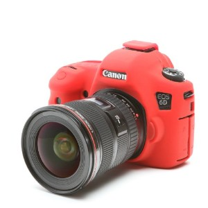 DISCOVERED イージーカバー Canon EOS 6D 用 液晶保護フィルム &スクリーンプロテクター付 レッド 6D-RE