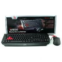 A4TECH BLOODY B1500 Winner Gaming Blazing Desktop Combo Set (MOUSE + KEYBOARD)
