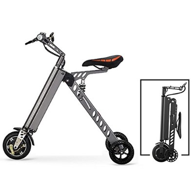 3 Wheel Foldable Electric Bike, Aluminum Alloy Electric Bicycle,25 lbs Ultra Light, with LCD...