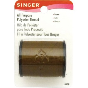 All Purpose Polyester Thread 150 Yards -Brown (並行輸入品)