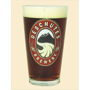 Deschutes Brewery Pint Glass Set of 4 by Libbey Glassware