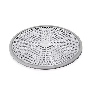 OXO Good Grips Easy Clean Shower Stall Drain Protector - Stainless Steel & Silicone [並行輸入品]