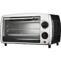 Brentwood TS-345B 4-slice Toaster Oven Broiler, Silver [並行輸入品]