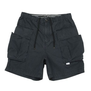 BLUEY ブルーイ / ミリタリー カーゴショーツ / MILITARY CARGO SHORTS - BLACK / 07B16PA43SE / MADE IN JAPAN【05P18Jun16...