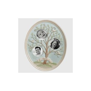 Oval Ceramic Family Tree Frame by Grasslands Road