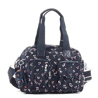 (キプリング) kipling MEDIUM SHOULDERBAG WITH REMOVABLE SHOULDERSTR ハンドバッグ #K13636 60M SMALL FLOWER 並行輸入品