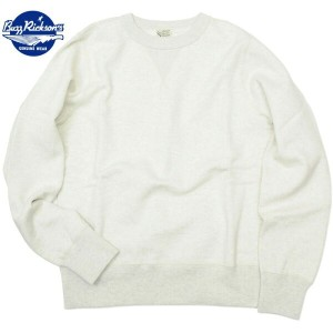 BUZZ RICKSON'S (バズリクソン)Set-In Sleeve Sweat Shirts Oatmeal セットイン スリーブ スウェット シャツ オートミール