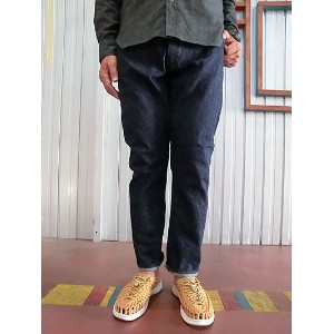 FOB FACTORY(FOBファクトリー) F1148 DENIM NARROW 5Pテーパード ナロー5P デニム One Wash