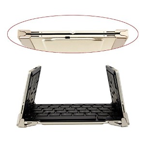 Foldable ブルートゥース Keyboard ユニバーサル Portable ブルートゥース 3.0 Wireless Keyboard with backlight and Non-スリップ...