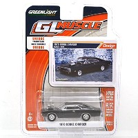 "GREENLIGHT 1:64SCALE ""GL MUSCLE"" ""1970 DODGE CHARGER""(BLACK) SERIES17 グリーンライト 1:64スケール 「GL マッスル」 ..."