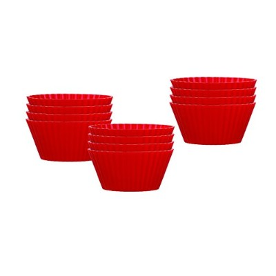 Mrs. Anderson's Baking Silicone Baking Cups for Muffins and Cupcakes, Standard Size 2.5-Inch, Set...