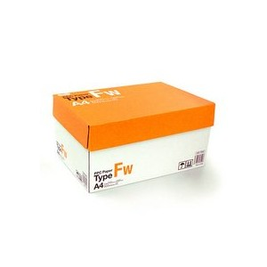 TANOSEE PPC Paper Type FW A4 PPCFW-A4 1箱(5000枚:500枚×10冊)