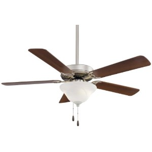 Minka-Aire F548-BS/DW, Contractor Uni-Pack, 52 Ceiling Fan, Brushed Steel by Minka-Aire