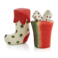 Oneida All Wrapped Up Salt and Pepper Shakers