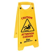 Quickie Professional Wet Floor Sign by Quickie
