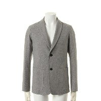 OURET オーレット LINEN COTTON DOBBY STRETCH SHAWL COLLAR JACKET{-AFS}{FIN50}