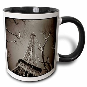3drose Danita Delimont–パリ–Looking Up At The Eiffel Tower inパリ、フランスmcu0001Mel Curtis–マグカップ 11...