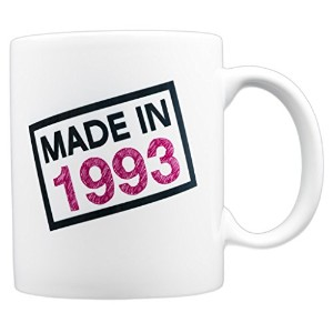 EverMug Made in 1993 24歳の誕生日用 ギフトマグ 11 oz.