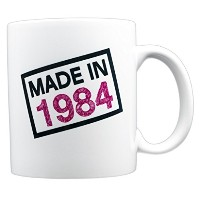 evermug Made in 1984 – 33rd誕生日ギフトMug 11 oz.
