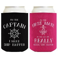 Captain First Mate Ship Happen ドリンククーラー