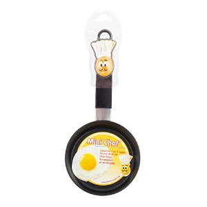 Brite概念、Mini Chef 1 Egg Fry Pan 2-Pack ブラック