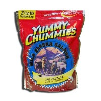 Yummy Chummies Original Salmon Soft N' Chewy Value Pack Dog Treat 2.5lbs by Arctic Paws
