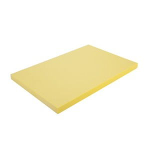 Alegacy per1218y高密度ポリエチレンColor Coded Cutting Board、12by 18by 1/ 2インチ、イエロー