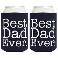 Best Dad EverマルチパックCan Coolies ブルー A-P-RS-88-00-JIT01-02-Navy