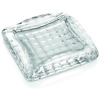 IVV Glassware Optic灰皿/ Paper Weight 7-Inch by 7-Inch クリア 4740166