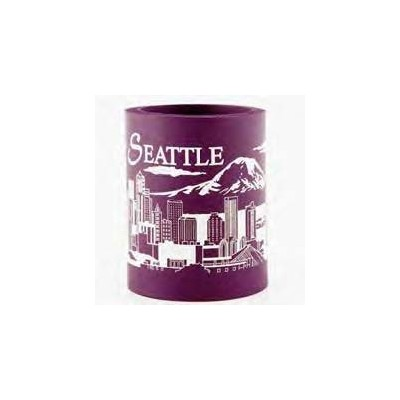 Seattle Skyline Koozie Can熱ホルダー( Colors Vary )