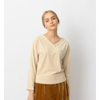 Steven Alan COTTON PILE V-NECK/カットソー【ビューティアンドユース ユナイテッドアローズ/BEAUTY&YOUTH UNITED ARROWS レディス Tシャツ...