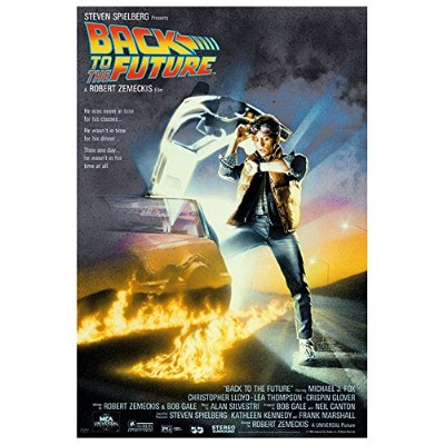 BACK TO THE FUTURE POSTER (68,5cm x 101,5cm)
