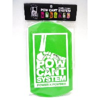『POW CANT SYSTEM/パウカント システム』【CANT PLATE/カントプレート】カラー:GREEN/WHITE★メール便配送致します※代引き・宅急便選択の方は通常配送料となります。
