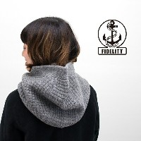 【FW】FIDELITY フィデリティ HOOD NECK WARMER[PHF13FK-001]