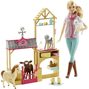 [バービー]Barbie Farm Veternarian Doll & Playset DHB71 [並行輸入品]