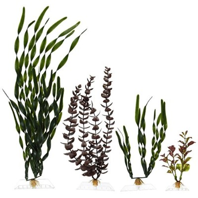 Marineland Multi-Pack Assorted Plastic Plants A3, 4, Tall (ML90542) by MarineLand