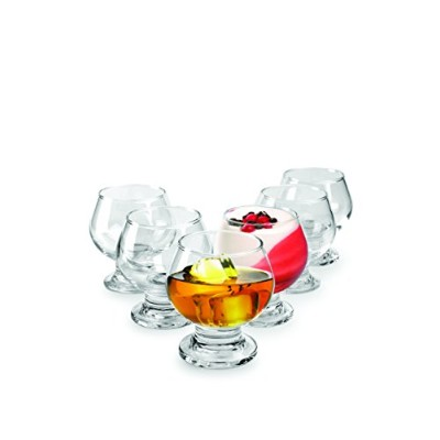 Samba 7 oz. Mini Dessert/Brandy Glass (Set of 6) by Circleware