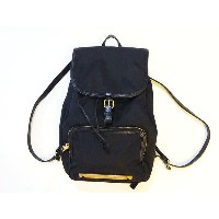 MARC BY MARC JACOBS マークバイマークジェイコブス リュック 黒 ナイロン【中古】