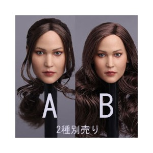 【GACTOYS】GC003 American beauty headsculpt 1/6スケール 植毛 女性ヘッド hk-2632